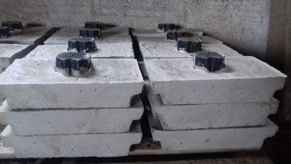 Caixa de luz de concreto
